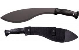 "Cold Steel 97KMS Tactical Kukri Machete 13"" Black 1055 Carbon Steel Black Poly Handle"