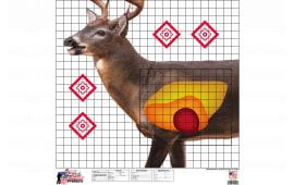 Pro-Shot WDSI-5PK 25X25 Whitetail SIGHT-IN Target
