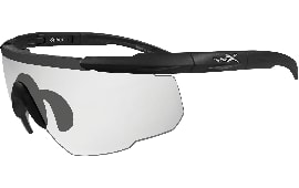 Wiley X Eyewear 303 Saber Advanced Safety Glasses Matte Black/Clear