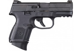 """FN 66721 FNS 40 Compact Double 40 S&W 3.6"""" 14+1 Polymer Grip Black"""