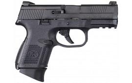 "FN 66696 FNS 40 Compact DA 40 S&W 3.6"" 10+1 Polymer Grip Black"