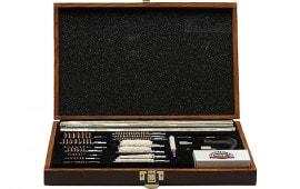 DAC UGC76W Universal Deluxe Gun Cleaning Kit WoodBox 35-Piece