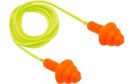 Pyramex RP3001 Reusable Earplugs Corded 24 dB Orange 50 Pair