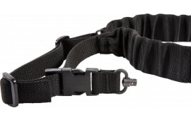 "Blue Force Gear UDC200BGPBBK UDC Single Point Padded Bungee Adjustable x 2"" Push Button Cordura Black"
