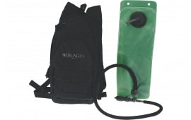 Drago Gear 11301BL Hydration Pack 600 Denier Polyester Black