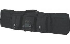 """Drago Gear 12-304BL Single Gun Case 47"""" x 14"""" x 10"""" Exterior 600D Polyester Black"""