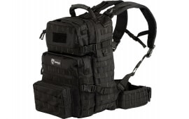 "Drago Gear 14302BL Assault Backpack 600D Polyester 20"" x 15"" x 13"" Black"