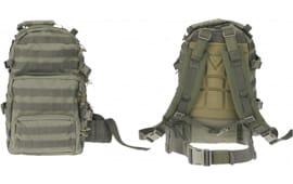 """Drago Gear 14302 GR Assault Backpack 600D Polyester 20"""" x 15"""" x 13"""" Green"""