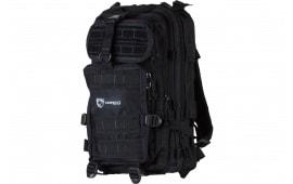 "Drago Gear 14301BL Tracker Backpack 600D Polyester 18"" x 11"" x 11"" Black"