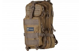 "Drago Gear 14301TN Tracker Backpack 600D Polyester 18"" x 11"" x 11"" Tan"