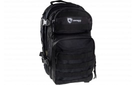 """Drago Gear 14305BL Scout Backpack Tactical 600D Polyester 16""""x10""""x10"""" Black"""