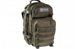 """Drago Gear 14305 GR Scout Backpack Tactical 600D Polyester 16""""x10""""x10 Green"""