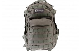 """Drago Gear 14305GY Scout Backpack Tactical 600D Polyester 16""""x10""""x10"""" Gray"""