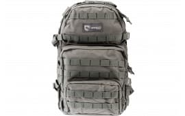 """Drago Gear 14302GY Assault Backpack 600D Polyester 20"""" x 15"""" x 13"""" Gray"""