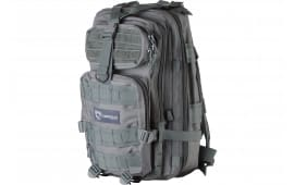 """Drago Gear 14301GY Tracker Backpack 600D Polyester 18"""" x 11""""x11"""" Gray"""