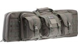 """Drago Gear 12302GY Single Gun Case 37"""" x 14"""" x 10"""" Exterior 600D Polyester Gray"""