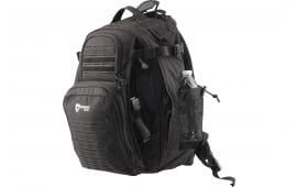 """Drago Gear 14310BL Defender Backpack 600D Polyester 17.5"""" x 14.5"""" x 11.25"""" Black"""
