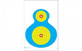PRWB1100 PR-WB1 Paper Silhouette Target (100 BOX)