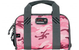 G*Outdoors1106PCPK Dbl Compact Pistol Case Lockable w/Organization System Pink