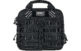 G*Outdoor T1412PCB Tact Dbl Case Black 1000D Nylon w/Teflon Coating