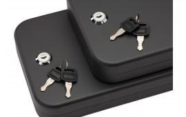 "SnapSafe 75211 Lock Box 2 Pack Keyed Pistol Safe Key Key 10"" x 7"" x 2"" 16GA Steel Black"