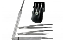 RamRodz 60020 Diamond Grip Pivoting Tweezers 2mm/3mm/5mm