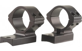 Talley 74X725 Rings and Base Set For Savage Axis 30mm Medium Extension Style Black Matte Finish