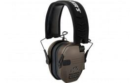 Walkers Game Ear Gwprsemfde Razor Electronic Slim Shooter Folding Muff 23 dB Flat Dark Earth