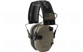 Walkers Game Ear Gwprsempat Razor Electronic Patriot Muff 23 dB Flat Dark Earth