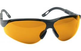 Walkers Game Ear Gwpxsglamb Shooting Glasses Elite Polycarbonate Amber Lens Black