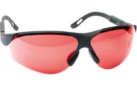 Walkers Game Ear Gwpxsglver Shooting Glasses Elite Polycarbonate Vermillion Lens Black