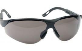 Walkers Game Ear Gwpxsglice Shooting Glasses Elite Polycarbonate Gray Lens Black