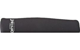 """Sentry 10SC08BK Scopecoat Standard Scope Cover 14""""x52mm Large Slip On Neoprene/Nylon Laminate Black"""