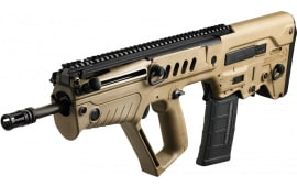 "IWI US TSFD16BLK Tavor SAR Semi-Auto .300 Blackout 16.5"" 30+1 Polymer Bull Pup Flat Dark Earth Stock Black"