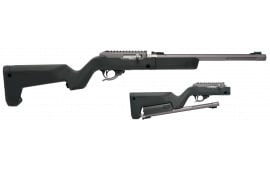 Tacsol TDGMGBBBLK X-Ring Takedown 22LR Backpacker Rifle Gunmetal Gray
