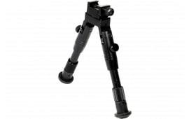 UTG TL-BP28S Shooter''s Swat Bipod Black Aluminum 6.2-6.7