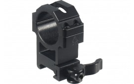 UTG Pro RQ2W3224 Hi Pro Ring Set 30mm Dia High Black