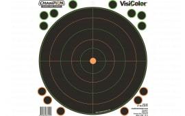 "Champion 46136 8"" Bullseye 5PK w/40 Pasters"