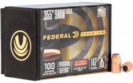 Federal PB9HS147 Bull .355 147HS (9MM) 100/4