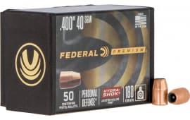 Federal PB40HS180 Bull .400 180HS(40/10M) 50/4