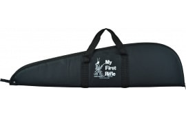 Crickett KSA035 Davey Crickett Padded Rifle Case Nylon Textured Black