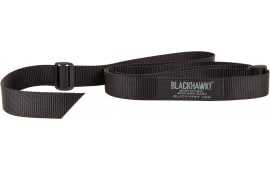 "Blackhawk 70UT00BK Universal Tactical Adjustable Rifle Sling 1.25"" Swivel Size Nylon Webbing Black"