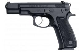 "CZ 91130 CZ 75 BD DA/SA 9mm 4.7"" 16+1 Black Synthetic Grip Black Finish"