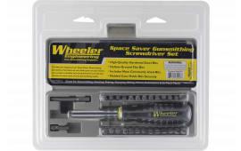 Wheeler 664507 Space-Saver Screwdriver Set Field Tool Set