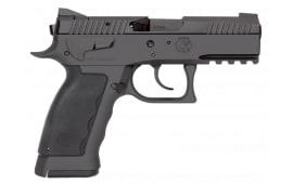 "Kriss USA WSDCME085 Sphinx SDP Compact DA/SA 9mm 3.7"" 17+1 Black Polymer Grip"