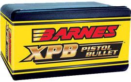 Barnes Bullets 30554 Pistol 45 Caliber .451 200 GR XPB 20 Box