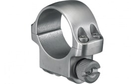 """Ruger 90281 Clam Pack Single Ring Low 1"""" Diameter Stainless Steel"""
