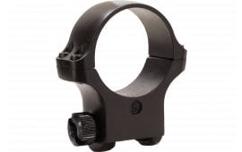 Ruger 90321 Clam Pack Single Ring Medium 30mm Diameter Hawkeye Matte Blued