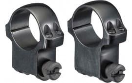 """Ruger 90406 Ring Set High 1"""" Diameter Blued"""