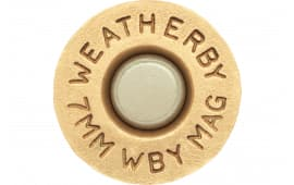 Weatherby BRASS7MM Unprimed Brass 7mm Weatherby Magnum Lightweight 20 Per Box